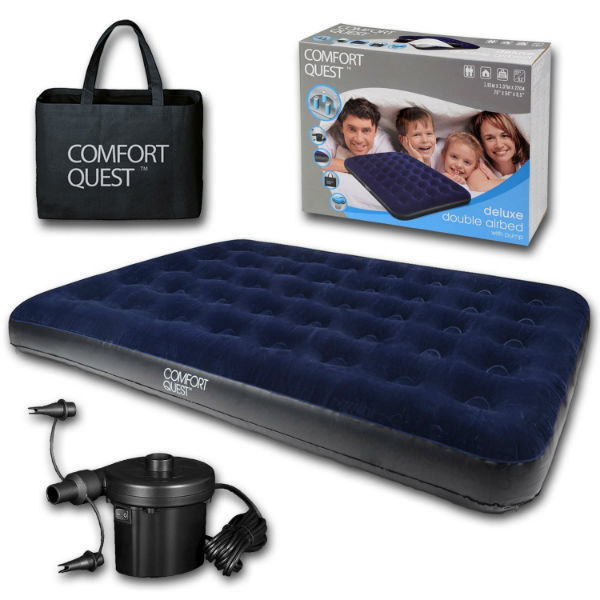 Comfort Quest Double Airbed Mattress Air Bed Review