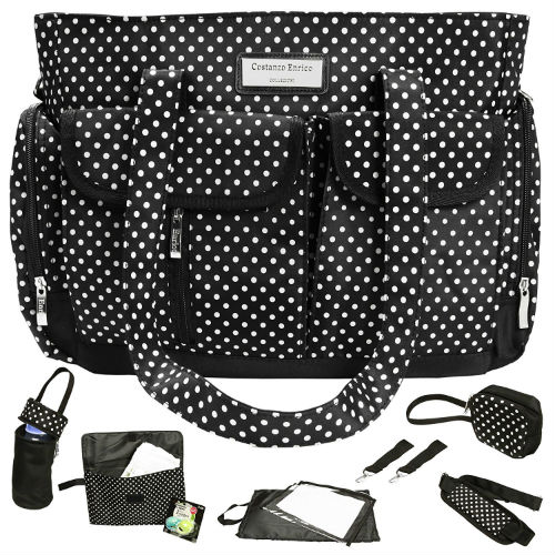 Costanzo Enrico Baby Diaper Nappy Changing Bag Review