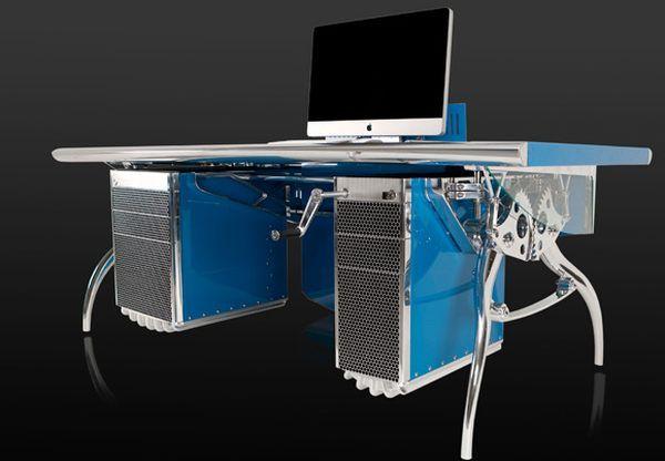 Bugatti Grand Prix racing car inspired desk