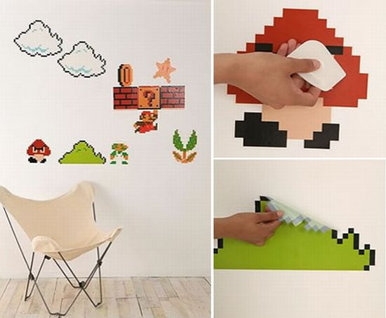 Show Off Your Geeky Fervor Super Mario Bros Wall Decals Part 88
