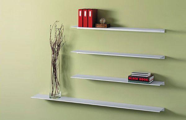 Envision Aluminum Floating Wall Shelf Design