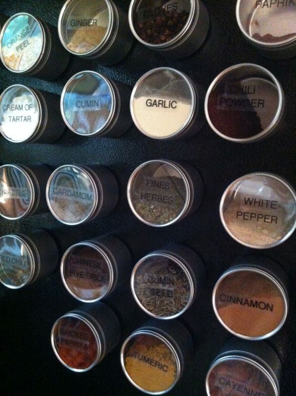 Magnetic Tins
