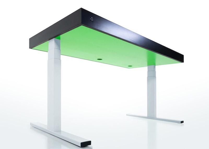 Smart office desk
