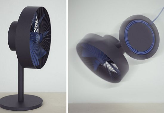 Lovely FAN That Sans All Buttons And Knobs For A Minimal Design | HomeTone.org