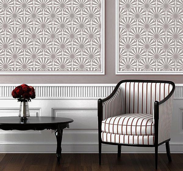 Pattern on walls