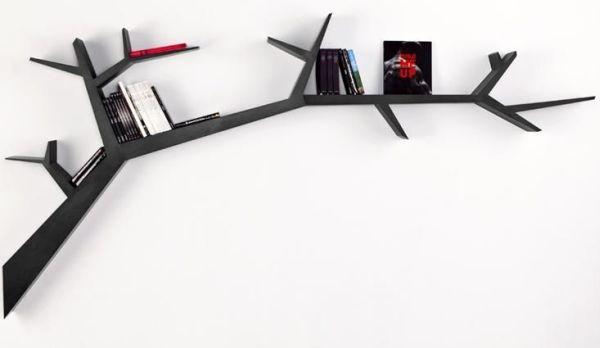 Tree Branch Bookshelf By Olivier Dolle