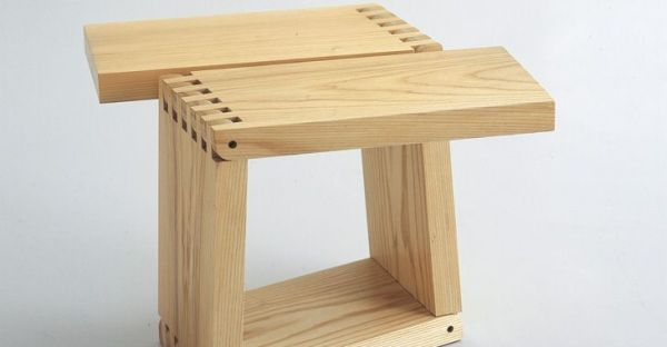 planks as stools
