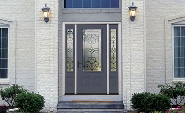 steel door in front of your house