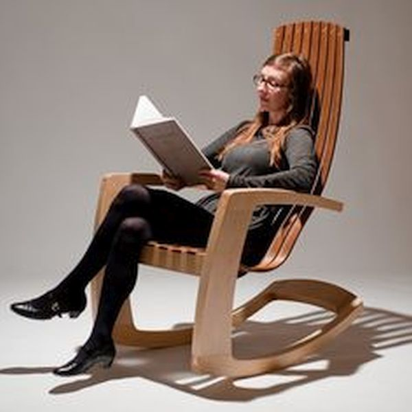Modern Rocking chair by J. Rusten (2)
