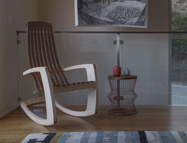 Modern Rocking chair by J. Rusten (3)