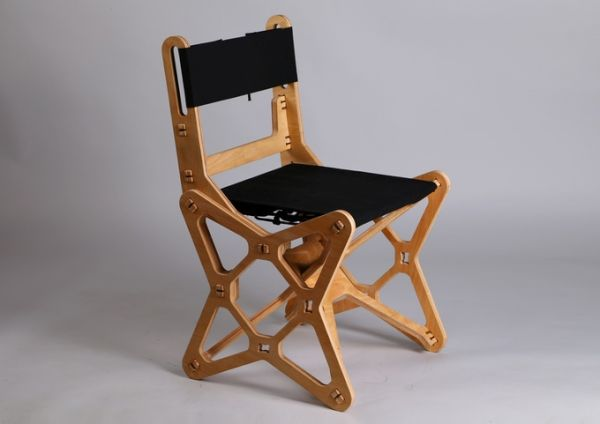 Innovative Electron flat-pack chair 1