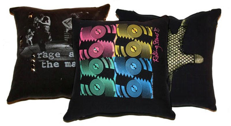 T-shirt cushions