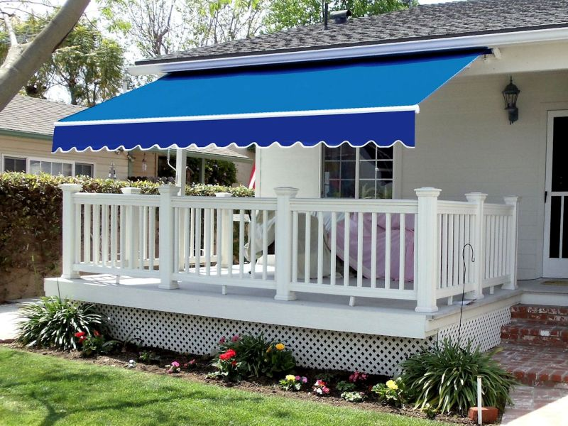 home's retractable awning