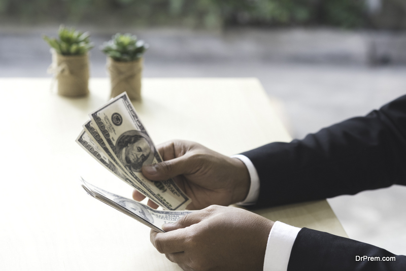 Arranging-cash