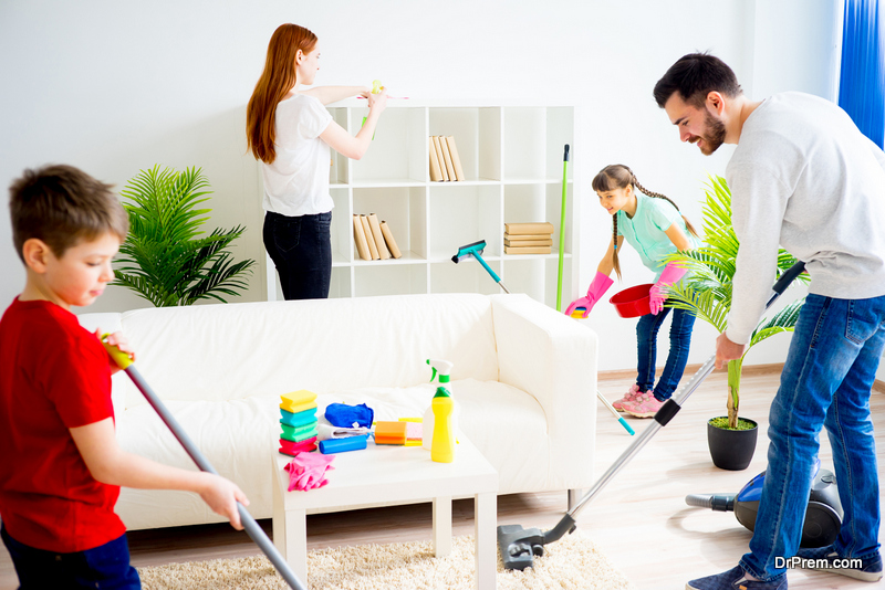 Physical Health Benefits of a Cleaner Home