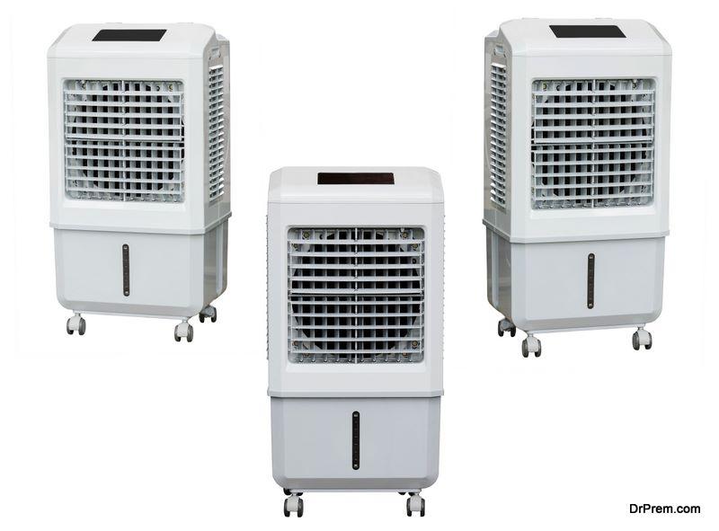 an Air Cooler at Home