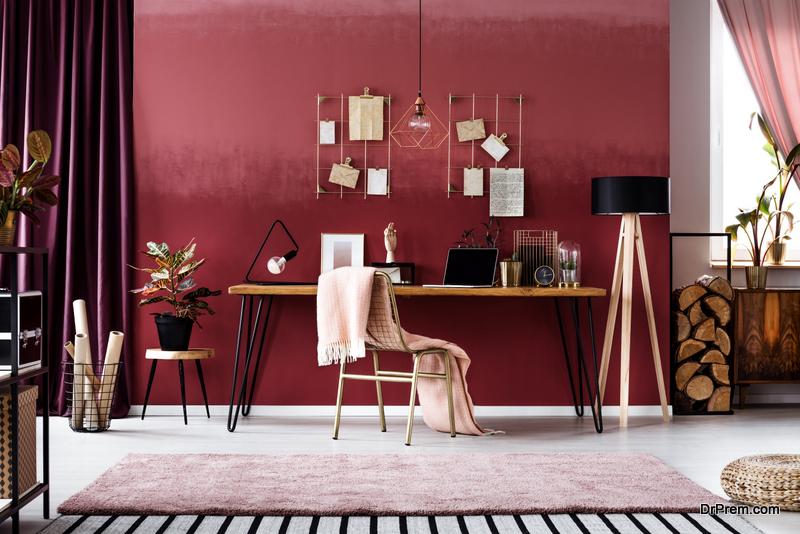 minimalist home office decor