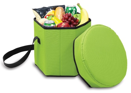 Picnic Time 596-00-104 Bongo Cooler Lime Green