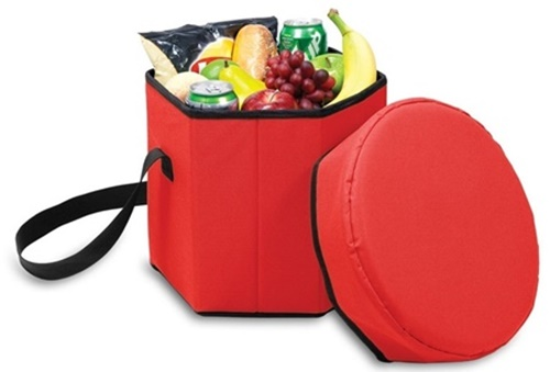 Bongo Collapsible Insulated Cooler Red