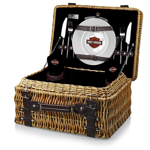 Harley Davidson Champion Picnic Basket for 2