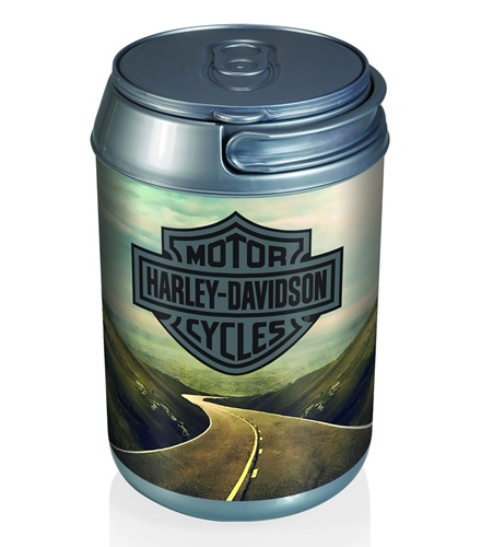 Harley Davidson Mountain Run Mini Can Cooler