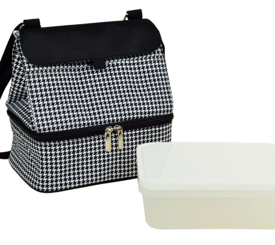 Picnic at Ascot 529-HT Cooler Lunch Bag Houndstooth