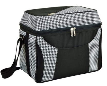 Picnic at Ascot 536-HT Houndstooth 36 Can Dome top Cooler Tote