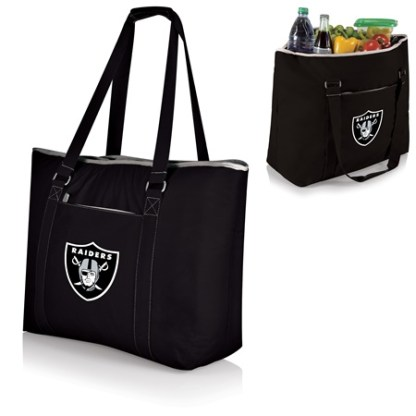 Oakland Raiders Tahoe Extra Large Insulated Tote black