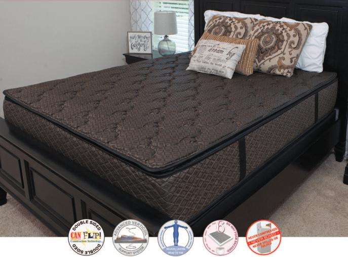 fitzgerald elara double sided pillowtop mattress