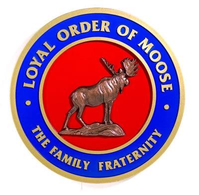 west bend moose lodge logo