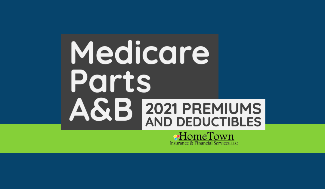 2021 Premiums and Deductibles for Medicare Parts A&B
