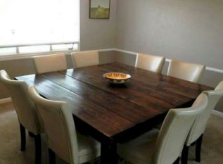 Enhance Dinning Room With Farmhouse Table 115