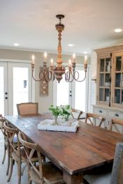 Enhance Dinning Room With Farmhouse Table 49