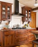 Wood Kitchen Cabinets An Investment to Awesome Kitchen 77