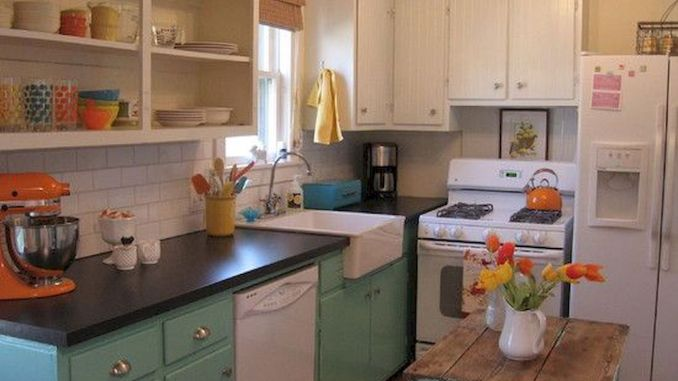 Small Kitchen Plan and Design for Small Room 140