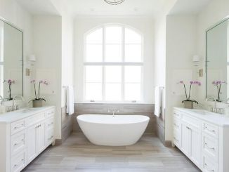 Extraordinary White Bathroom Ideas 97