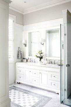 Extraordinary White Bathroom Ideas 23