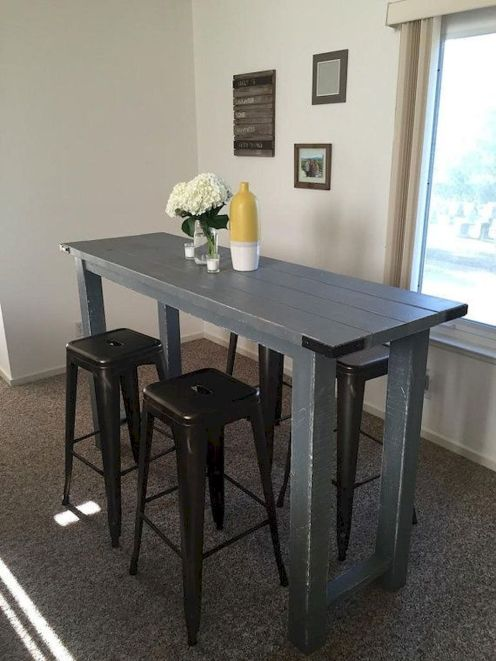 Design Space Saving Dining Room For Your Apartment 75