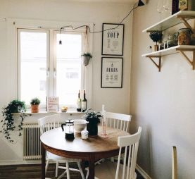 Design Space Saving Dining Room For Your Apartment 139