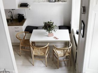 Design Space Saving Dining Room For Your Apartment 148