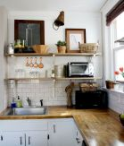 Small Kitchen Ideas For Your Appartement 23