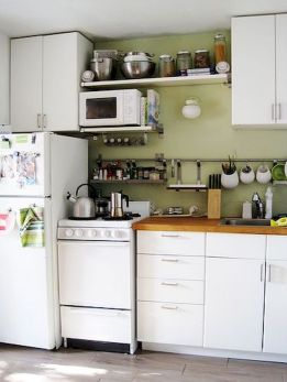 Small Kitchen Ideas For Your Appartement 48