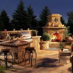 Ultimate Backyard Fireplace Sets The Outdoor Scene 111