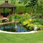 Enjoy the Peace and Serenity with Backyard Pond Decor 42