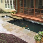 Enjoy the Peace and Serenity with Backyard Pond Decor 87