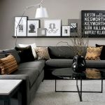 Modern Living Room Ideas With Grey Coloring 60