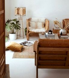 100++ Rattan Furniture to Make Your Classy Room 109