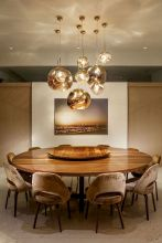 Round Dining Room Tables Decoration Ideas 2