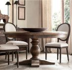 Round Dining Room Tables Decoration Ideas 16