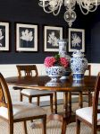 Round Dining Room Tables Decoration Ideas 19